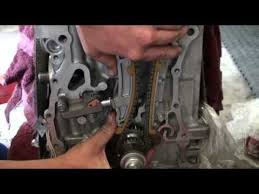2005 honda accord timing belt or chain timing chain tensioner installation for k24
