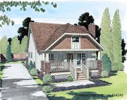 Cottage Home Floor Plans by 83 Best House Plans With Porches Images On Pinterest Family Home