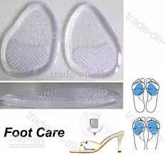 gel front insole massaging gel cushion foot pads gel insole reduce