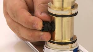 fix a leaky kitchen faucet replace the diverter on a single faucet