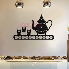 vinyl mural cuisine stickers cuisine vinyl wall sticker wall decals teapot mural tile