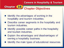 careers in hospitality u0026 tourism ppt video online download