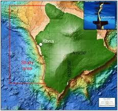 map kona usa map of the study area the kona coast hawai i usa