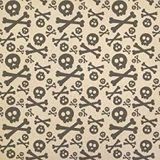 skull wrapping paper skulls and crossbones kraft present gift wrap wrapping