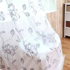 patterned sheer curtains u2013 teawing co