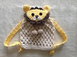 crochet bear backpack pattern sac for babies and kids