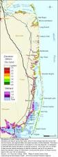 Map Of New Jersey And New York by Sea Level Rise Planning Maps Likelihood Of Shore Protection