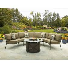Patio Sectional Furniture Covers - better homes and gardens ridgewell fire chat sectional sofa chair