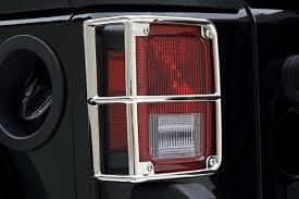 jeep wrangler brake light cover smittybilt euro tail light guards free shipping