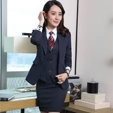 styles of work suites new autumn winter uniform styles business women blazers suits ladies