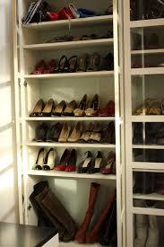 billy bookcase shoe storage shoe closet ikea billy bookcases closet space pinterest ikea
