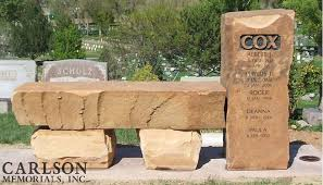 Natural Stone Benches Memorials In Basalt Carlson Memorial