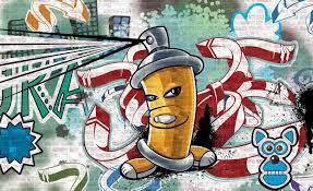 wall mural photo wallpaper picture 1397pp graffiti boys urban graffiti boys urban art photo wallpaper mural cn 1397pp