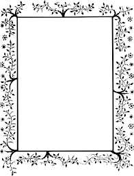 Decorative Frame Png Free Clipart Of A Decorative Border