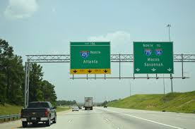 Atlanta Bypass Map by Interstate Guide Interstate 475 Georgia