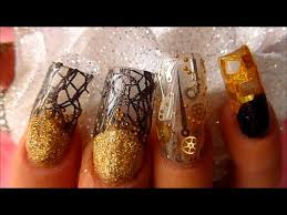 steam punk acrylic nails absolute nails youtube steampunk
