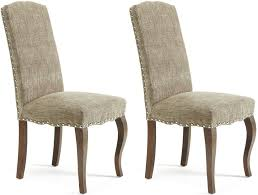 Kensington Bistro Chair Excellent India Geometric Fabric Dining Chairs Set Of 2