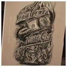 25 beautiful money tattoo ideas on pinterest money rose tattoo