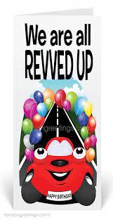 auto dealer car happy birthday card 80305 harrison greetings