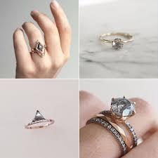 engagement rings australia grey diamond engagement rings popsugar australia