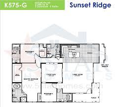 Karsten Homes Floor Plans by Skyline Sunset Ridge Series 5starhomes Manufactured Homes