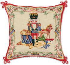 christmas needlepoint handmade needlepoint nutcracker christmas pillow nutcrackers fan
