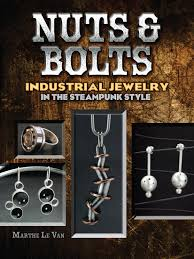 nuts u0026 bolts industrial jewelry in the steampunk style