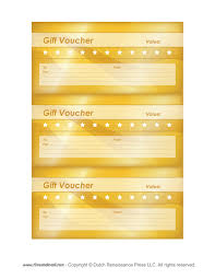 Free Printable Gift Certificate Template Word Vouchers Template