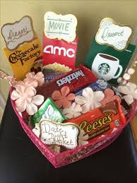 date basket for to be wedding shower gift diy gift