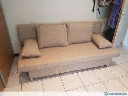 divan canapé divan canapé lit bon etat 4 places a vendre 2ememain be
