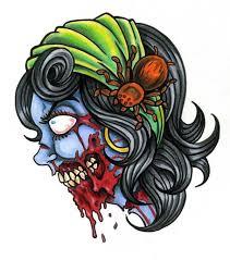 tattoo ideas zombie 20 best zombie tattoo flash koi images on pinterest tattoo designs