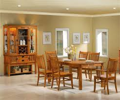 craftsman style dining room table meadowbrook 7 pc dining collection