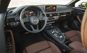 audi dashboard a5 2018 audi a5 cabriolet cars exclusive videos and photos updates