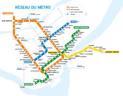 Map Montreal Canada by Montreal Travel Information