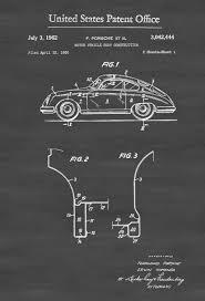 porsche garage decor 1962 porsche patent patent print wall decor automobile decor