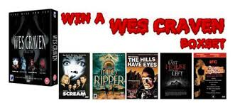 film horror wes craven win a wes craven dvd boxset in our competition horror cult films