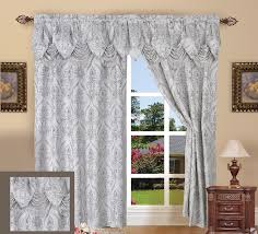 Silver Valance Silver Curtains Drapes Sale U2013 Ease Bedding With Style