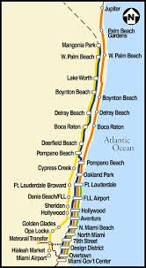 Boynton Beach Florida Map by Palm Beach Cycle Chic Trains Trains Trains