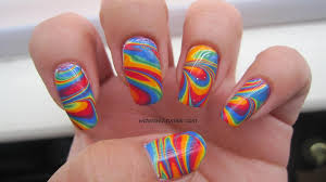 rainbow marble nails images reverse search