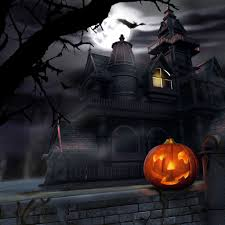 halloween haunted house flyer background halloween party house avancnet com