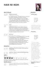 preschool assistant teacher resume resume for teaching assistant cover letter examples for teacher