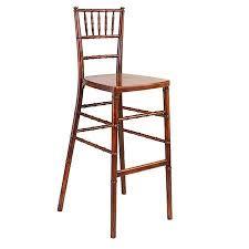 fruitwood chiavari fruitwood chiavari barstool rentals chair rentals