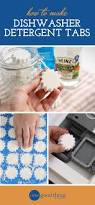 how to make your own dishwasher detergent tabs one good thing by