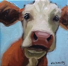 Goat Home Decor Kyle Buckland U0027s Wife Jenn Counts Farm Art Cow Cattle Animals Oil