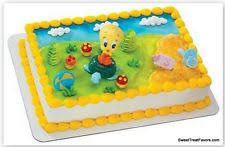 baby looney tunes baby shower decorations looney tunes edible party cake decoration image ebay
