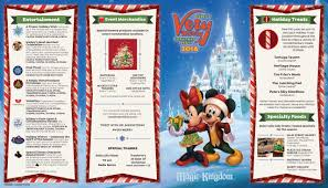 mickey s merry 2016 guide map photo 1 of 2