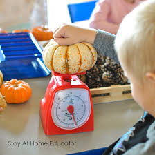 fall math and science center for preschoolers stay at home educator