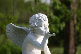 free photo cherub statue the figurine ornament max pixel
