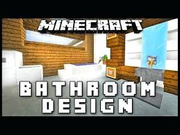 minecraft bathroom ideas how to minecraft bathroom bathroom how to furniture