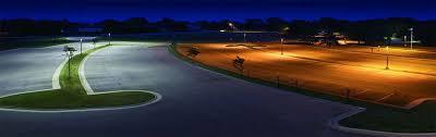 led parking lot lights vs metal halide parking lot lighting gusco